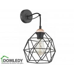 NOWODVORSKI LAMPA ZWIS SUFITOWY BALL BLACK-GOLD 6588 230V