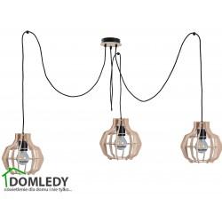 LAMPA ZWIS SUFITOWY MONTANA GREY 814