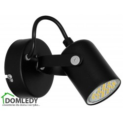 MILAGRO LAMPA SUFITOWA PICO BLACK 994