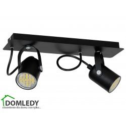 MILAGRO LAMPA SUFITOWA PICO BLACK 995