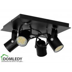 MILAGRO LAMPA SUFITOWA PICO BLACK 997