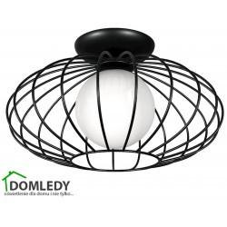 MILAGRO LAMPA SUFITOWA KRONOS BLACK 4425
