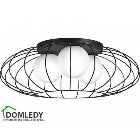 MILAGRO LAMPA SUFITOWA KRONOS BLACK 4426