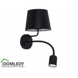 LAMPA KINKIET MAJA BLACK 2537
