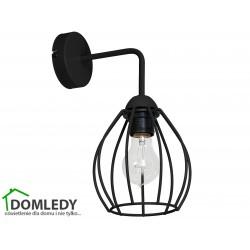 MILAGRO LAMPA KINKIET DON BLACK 746