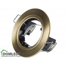 Oprawa stała aluminiowa okrągła typ CT-005 kolor ANTYCZNY MOSIĄDZ