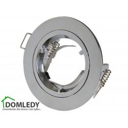 Oprawa stała aluminiowa okrągła typ CT-005 CHROM