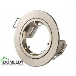 Oprawa stała aluminiowa okrągła typ CT-005 SATYNA NIKIEL