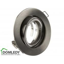 Oprawa ruchoma aluminiowa okrągła CT-009 SATYNA NIKIEL