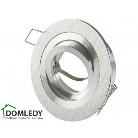Oprawa ruchoma aluminiowa okrągła CT-8362 SILVER