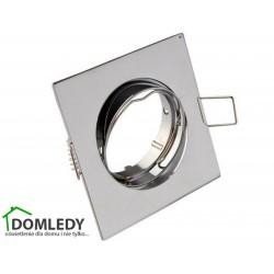 Oprawa ruchoma aluminiowa kwadratowa CT-001 CHROM