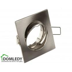 Oprawa ruchoma aluminiowa kwadratowa CT-001 SATYNA NIKIEL
