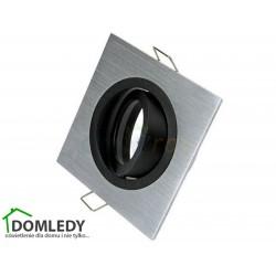 Oprawa ruchoma aluminiowa kwadratowa CT-8361 SILVER WITH MIDDLE BLACK
