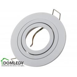 Oprawa ruchoma aluminiowa okrągła CT-8362 BIAŁA