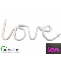 LAMPKA NAPIS NEON LOVE LED