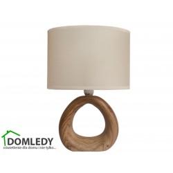 LAMPA STOŁOWA GOLF E14 WALNUT 03205