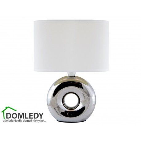 LAMPA STOŁOWA GOLF E14 CHROME/WHITE 03544