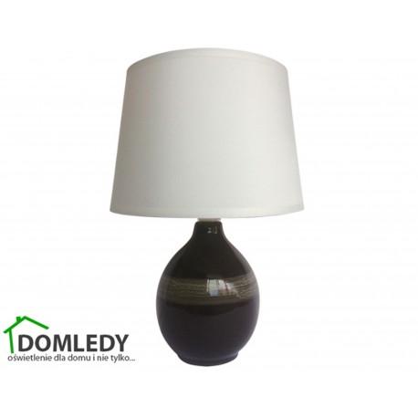 LAMPA STOŁOWA ROMA E14 BLACK 03206