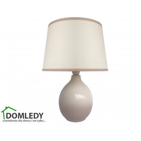 LAMPA STOŁOWA ROMA E14 GREY  03207