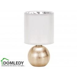 LAMPA STOŁOWA PERLO E14 GOLD/WHITE 03291