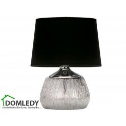 LAMPA STOŁOWA JAGODA E14 CHROME/BLACK 03292