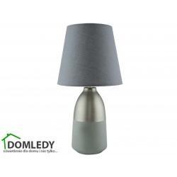 LAMPA STOŁOWA ANETA E14 GREY 03572