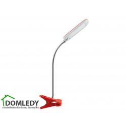 LAMPA BIURKOWA DORI LED RED CLIP 02866