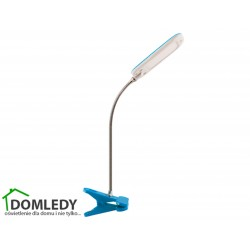 LAMPA BIURKOWA DORI LED BLUE CLIP 02867