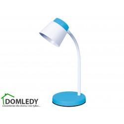LAMPA BIURKOWA ELMO LED BLUE 03198