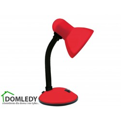 LAMPA BIURKOWA TOLA E27 RED 02850