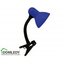 LAMPA BIURKOWA TOLA E27 BLUE CLIP 02855