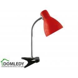 LAMPA BIURKOWA KATI E27 RED CLIP 02862