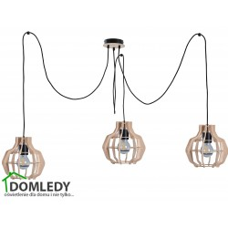 LAMPA ZWIS SUFITOWY BENTO SMALL NATURAL LONG 653