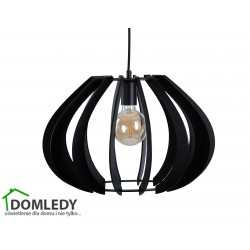 LAMPA ZWIS SUFITOWY NORA BLACK 646