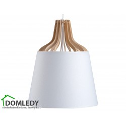 LAMPA ZWIS SUFITOWY IVONE WHITE LONG 752