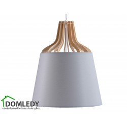 LAMPA ZWIS SUFITOWY IVONE GREY 721