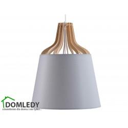 LAMPA ZWIS SUFITOWY IVONE GREY LONG 753