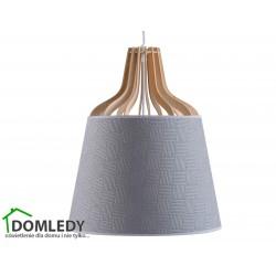 LAMPA ZWIS SUFITOWY IVONE GREY III 723