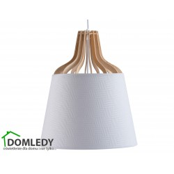 LAMPA ZWIS SUFITOWY IVONE WHITE II 724
