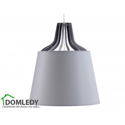 LAMPA ZWIS SUFITOWY LUCIO GREY 730