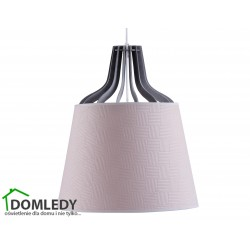 LAMPA ZWIS SUFITOWY LUCIO PINK 734