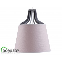 LAMPA ZWIS SUFITOWY LUCIO PINK LONG 762