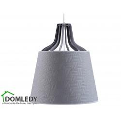 LAMPA ZWIS SUFITOWY LUCIO GREY II 735