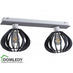 LAMPA PLAFON SUFITOWY NICOLETA  GREY 832