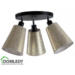 LAMPA PLAFON SUFITOWY EVA GOLD 904