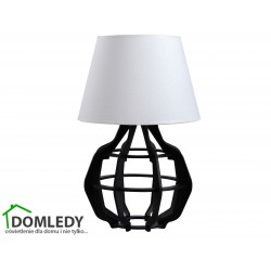LAMPA STOŁOWA NOCNA BENTO BLACK WHITE 924