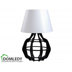 LAMPA STOŁOWA NOCNA BENTO BLACK WHITE II 925