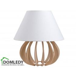 LAMPA STOŁOWA NOCNA NORA NATURAL WHITE 933