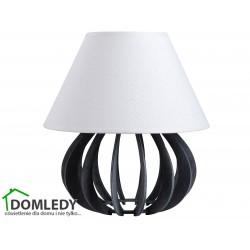 LAMPA STOŁOWA NOCNA NORA GREY WHITE 935