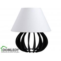 LAMPA STOŁOWA NOCNA NORA BLACK WHITE 962